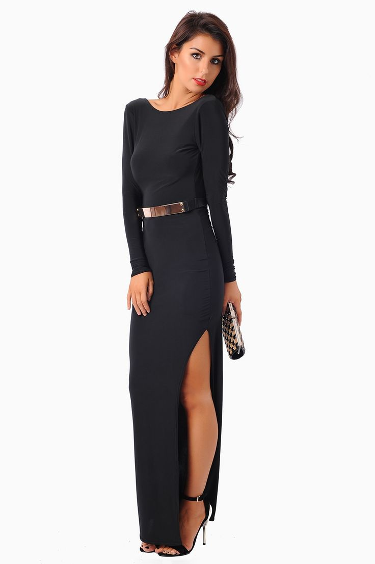 Black payette dress one strapless funky