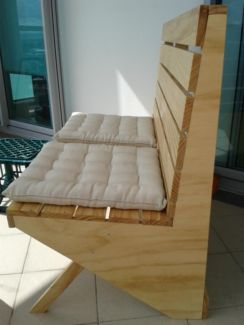 Handmade wood bench decor by verywoodthings.com