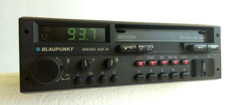 Blaupunkt Bremen SQR 45 Car Casette FM Player 80s Porsche BMW Mercedes Ferrari  | eBay