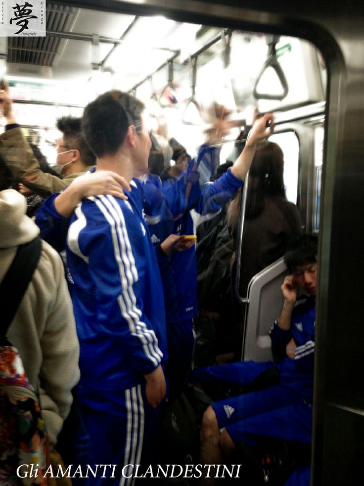 Football players and gay lovers in the underground