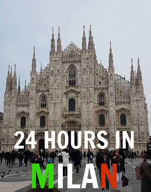 Check out our suggested itinerary for 24 hours in Milan on the Girles Gone Wild blog - follow us for more posts <3 #travel #milan #italy