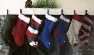 Knitting Pure & Simple 277 Christmas Stocking