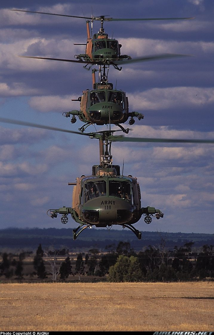 Picture of the Bell UH-1H Iroquois (205) aircraft