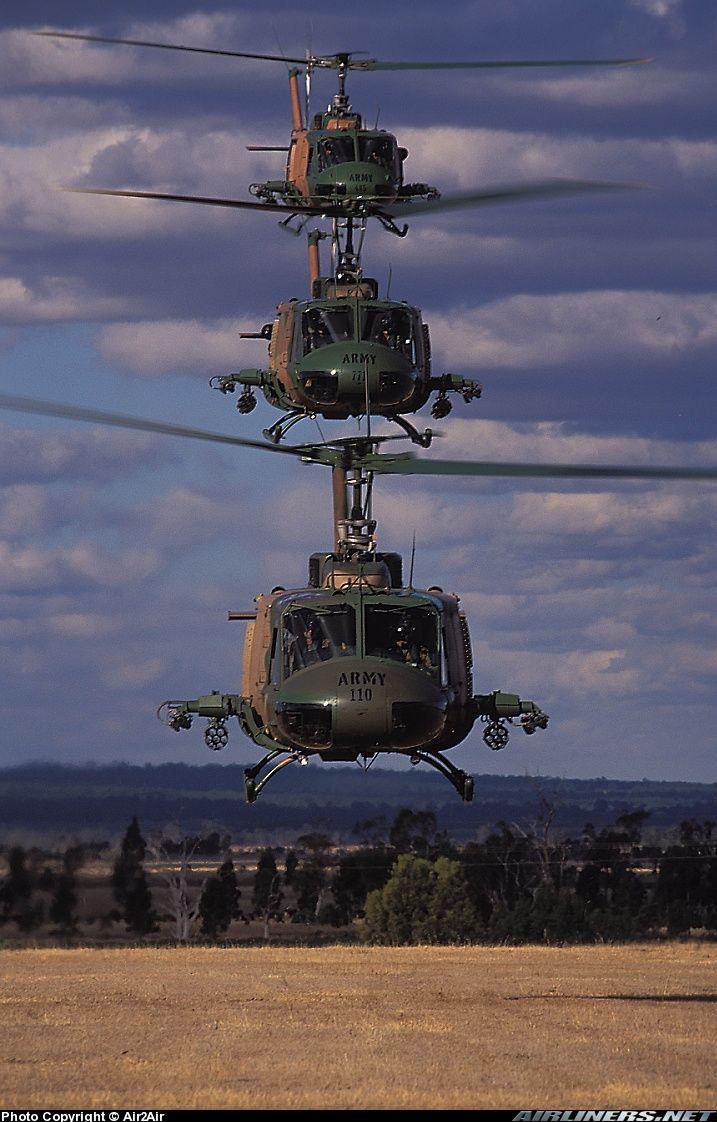 UH-1H Gunships