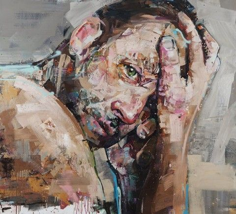 Life, Lived Larger: Andrew Salgado - artsy forager #art #paintings