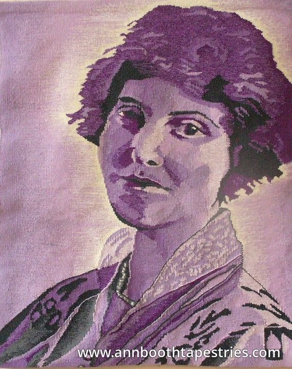 Portrait of May Maxwell