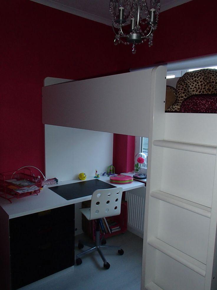 17 beste idee n over meisjes bureau op pinterest ikea kinderen slaapkamer bureau 39 s en girls - Kleur van kamer voor meisje ...