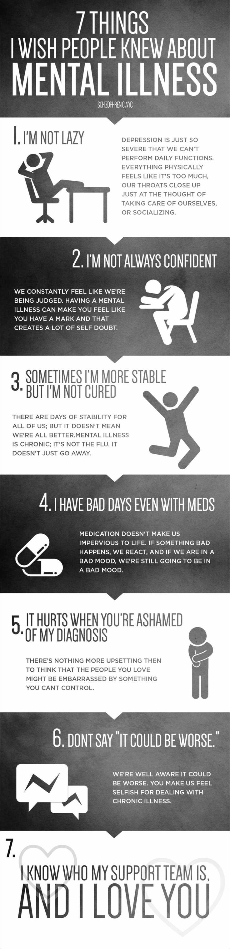 7 Things I Wish People Knew About Mental Illness