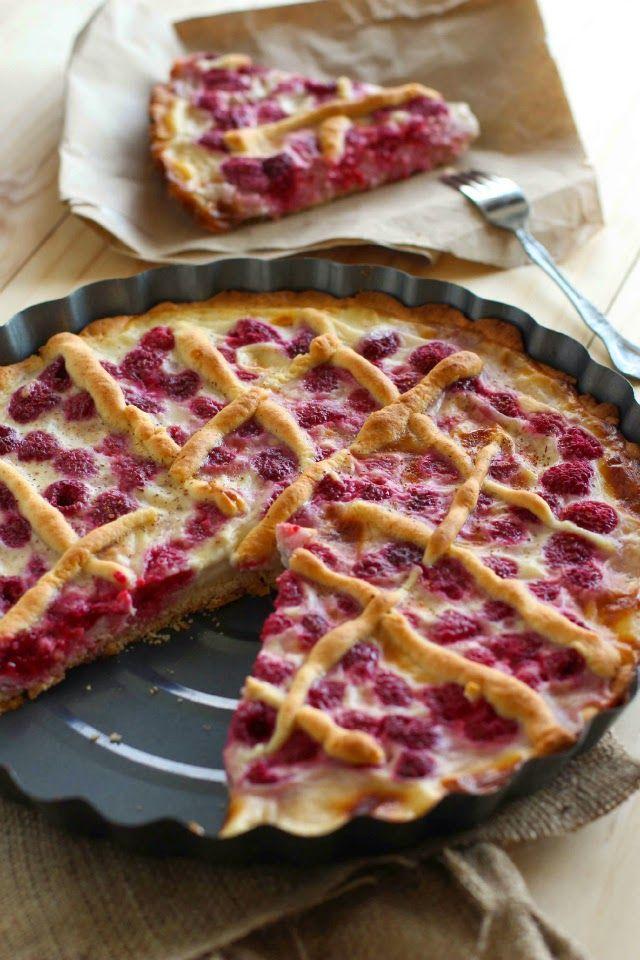 Receta: Kuchen de Frambuesa