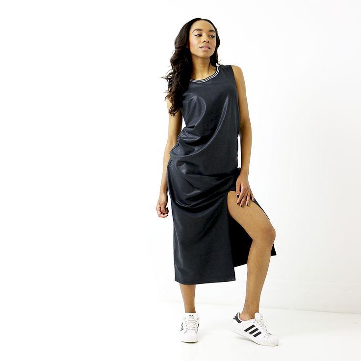 Singer Q-Benjamin in the Caviar dress by GSUS