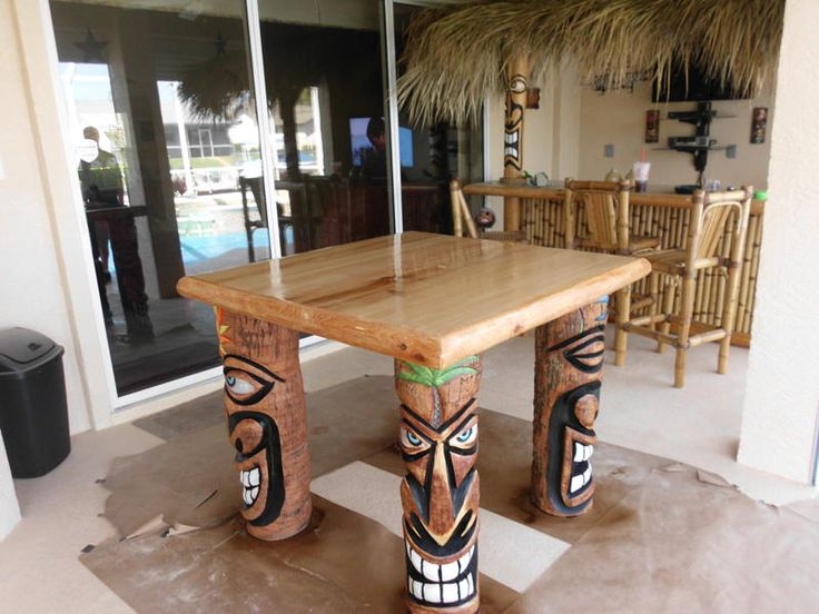 359 Best Images About Tiki Wood Carving On Pinterest
