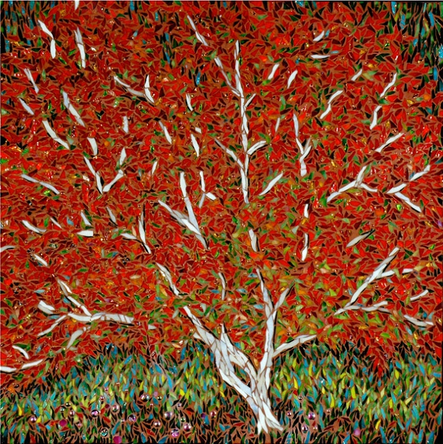 17 best images about mosaic trees and plants on pinterest trees mosaics and quilt - Fall landscaping ideas a mosaic of colors shapes and scents ...