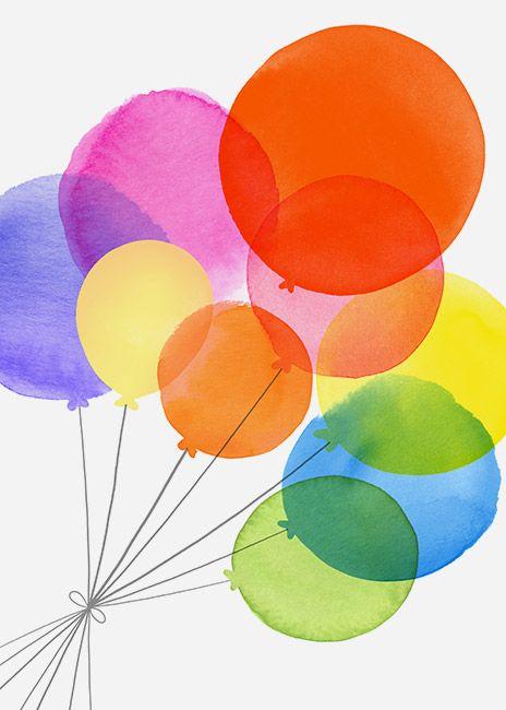 Margaret Berg Art: Balloons+Bouquet