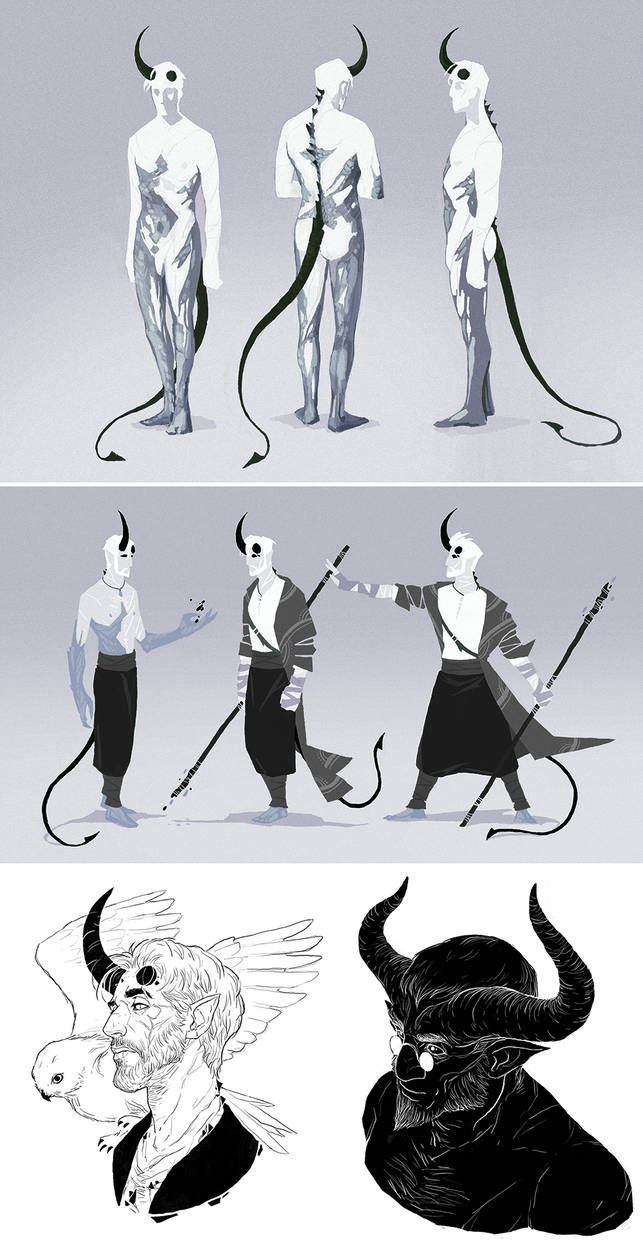 Dnd Sorcerer Tiefling Otho Sketchdump By Coupleofkooks On Deviantart Dnd Sor In 2020 With Images Concept Art Characters Fantasy Character Design Character Design Inspiration