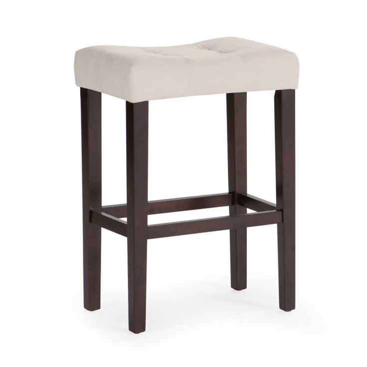 Palazzo 29 Inch Saddle Bar Stool Light Beige   D1482.0052 MP