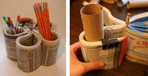 Vecchie rubriche telefoniche a casa... diamo nuova vita! #RicicloCreativo  SEGUICI SU: www.facebook.com/CreoEco www.pinterest.com/CreoEco