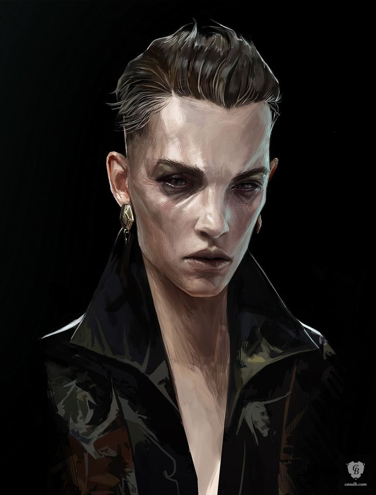#Dishonored Artwork Delilah Portrait - Dishonored 2 Arkane Studios