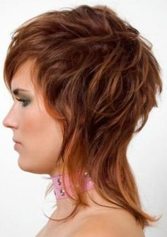modern long shag haircuts - Google Search