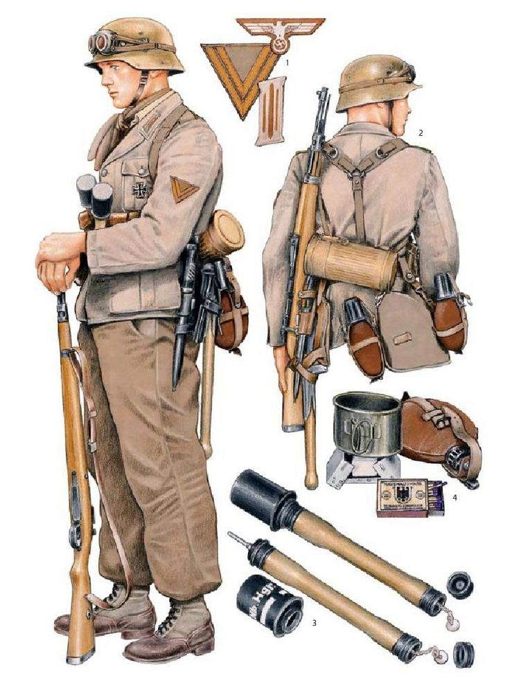 Afrika Korps trooper                                                                                                                                                                                 More
