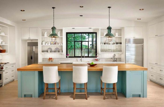 ▷ 1001 + ideas de decoración de cocina americana | diseño ...