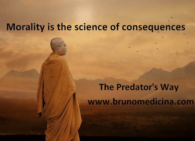 Morala este stiinta consecintelor - Bruno Medicina  http://www.traininguri.ro/predator-selling/ https://www.facebook.com/bruno.medicina.1?fref=ts http://www.brunomedicina.com/