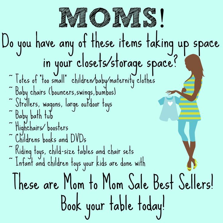 Mom to Mom Sale Best Sellers