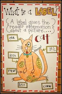 What is a label? Great for nonfiction