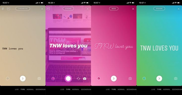 Instagram tests new 'Type' feature for Stories and screenshot alerts  #techwebies #News