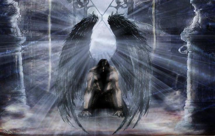Gothic fallen angel art desktop backgrounds art and photos - Dark gothic angel wallpaper ...