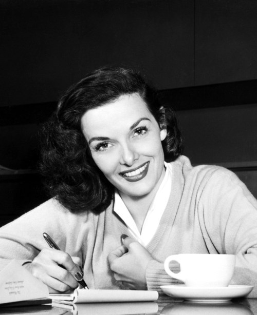 Jane Russell (1921-2011) #coffee #celebrity #actress #janerussell
