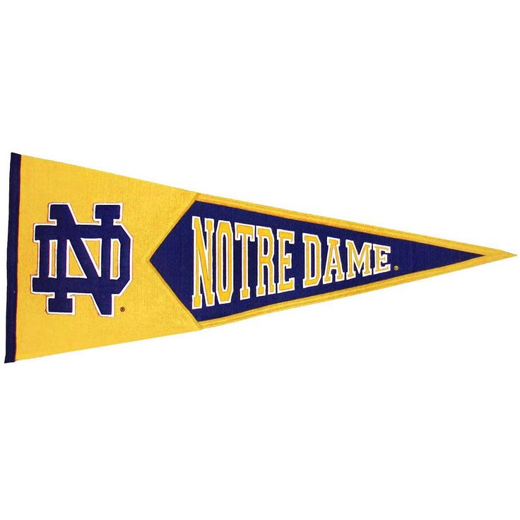 Notre Dame Fighting Irish Traditions Pennant, Multicolor