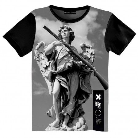 Avenging Angel T-shirt #tshirt #streetwear #streetfashion #streetstyle #brzozowskafashion #brzozowska #styleuliczne #fashion #print #3d #3dprint #fullprint #blvck #allblackeverything #blvckfashion #antique #motyw #antyczny #modauliczna #polskistreetwear #koszulka #nadruki #nadruk #autorski #projekt