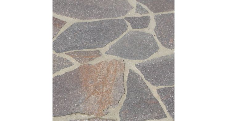 Porphyr-Polygonalplatten
