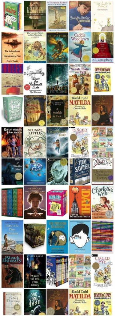 Top 50 Children's Chapter Books