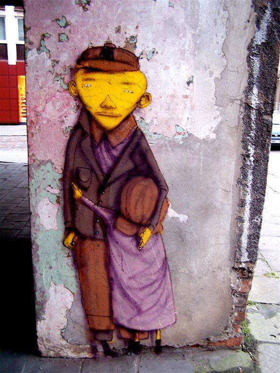 OS GEMEOS http://www.widewalls.ch/artist/os-gemeos/ #streetart #urbanart