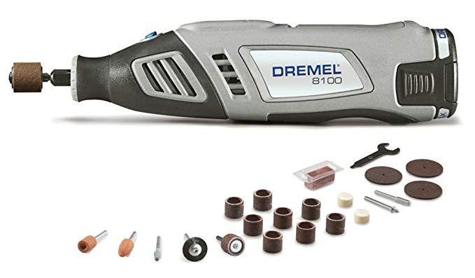 Dremel 8100 N 21 8 Volt Max Cordless Rotary Tool Review Dremel Rotary Tool Rotary Tools