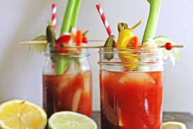 Get this recipe for Dill Pickle Bloody Mary! The special ingredient in this recipe is a dill pickle infused vodka. A delicious drink to serve at brunch.