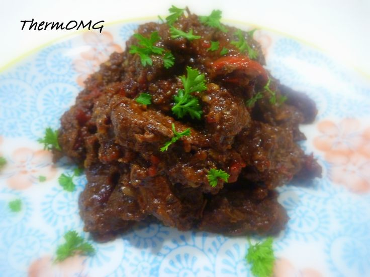 Lamb with Ginger and Chilli - ThermOMG