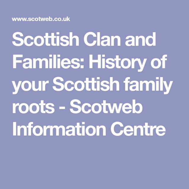 how to find your scottish clan