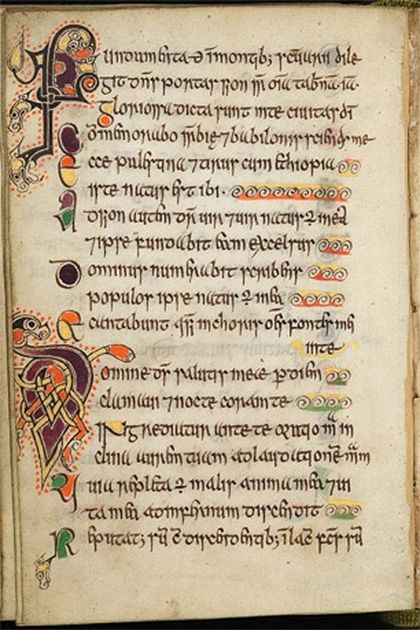 Scotland's oldest book - Edinburgh University. The Celtic Psalter is described as Scotland's Book of Kells. The pocket sized book of Psalms is housed at the University, where it went on display in 2009 for the first time. Created in the 11th century AD making it Scotland's oldest surviving book at 938 years old!