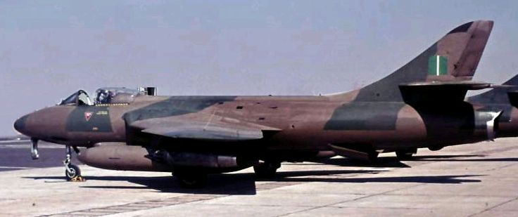Rhodesian Air Force Hawker Hunter