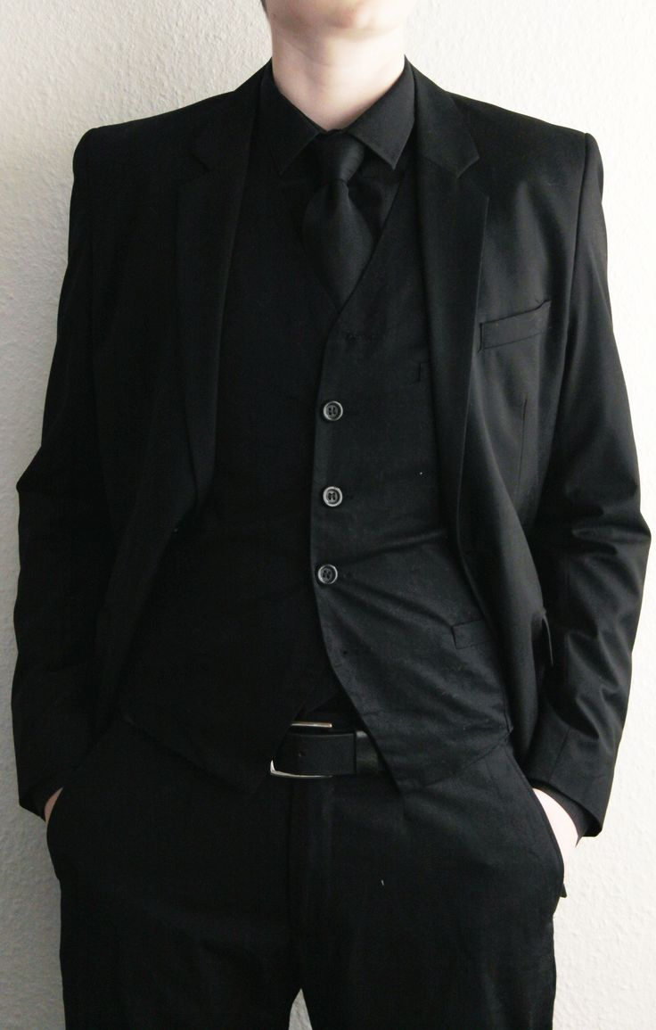 how to make a blak suit