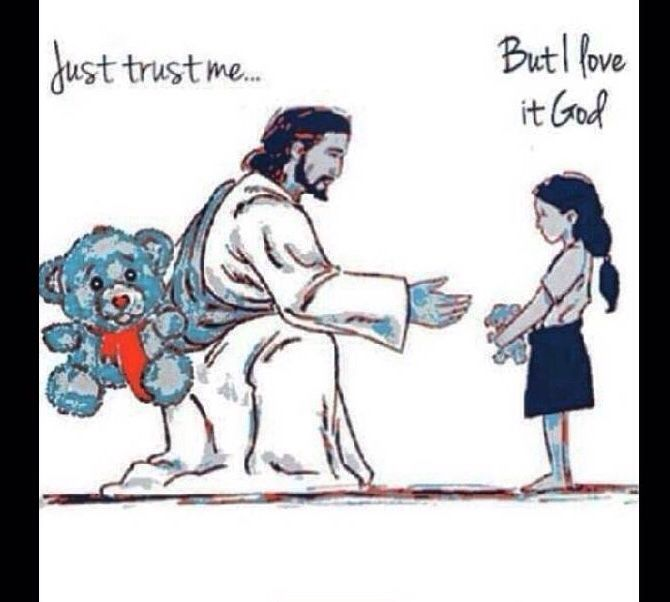 Trust in the lord and he will be there for you and always do good