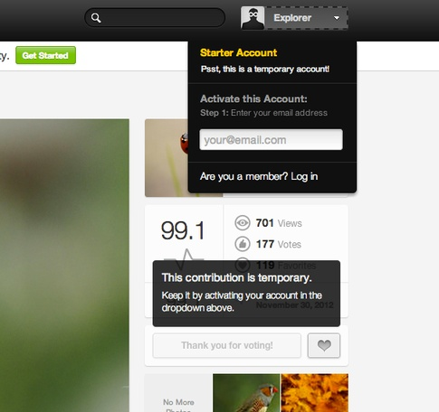 (2/1) 500px's Frictionless User Onboarding Process Al... - Product Design Inspiration - Quora