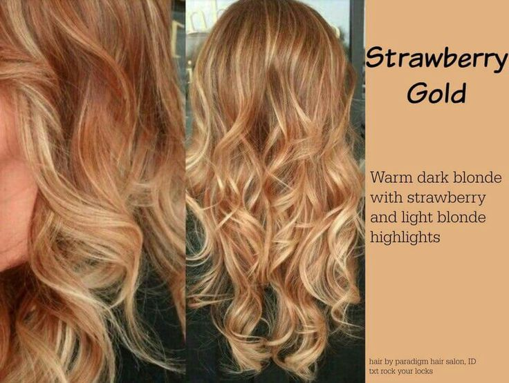 Strawberry Gold Strawberry Blonde Hair Hair Color