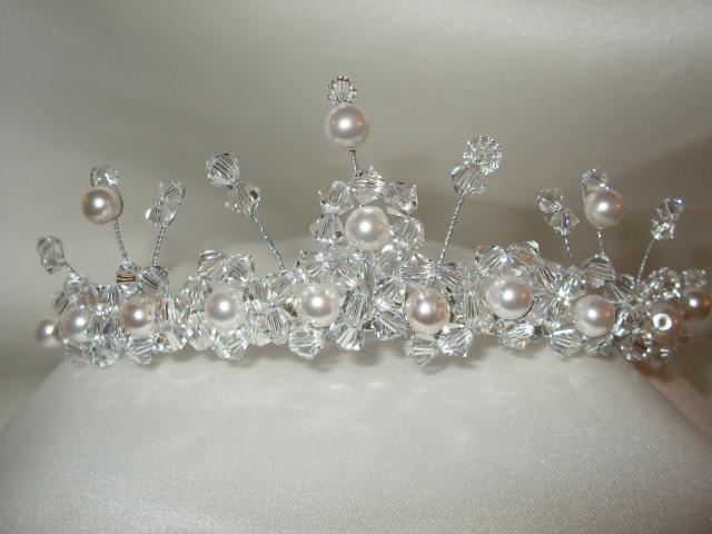 handmade tiara