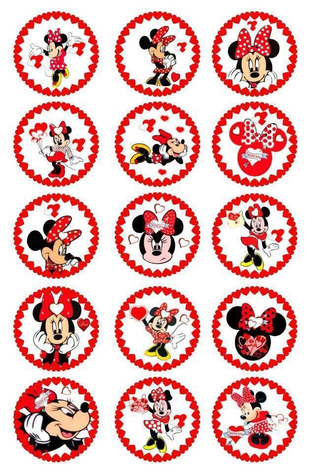 Minnie Bottle Cap Images