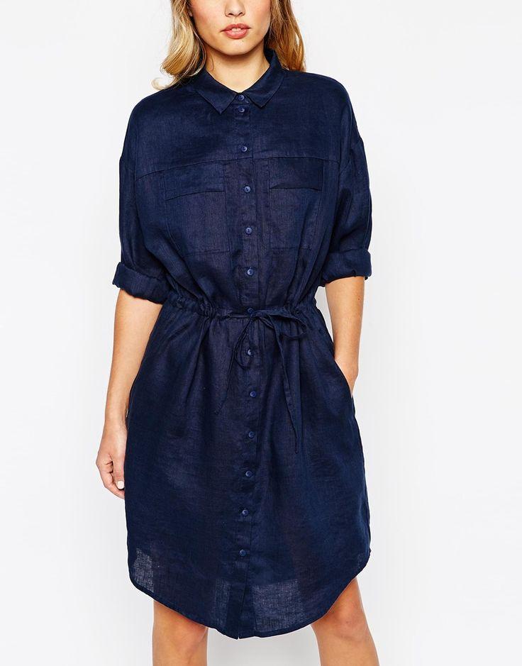 Платье-рубашка средней длины Whistles