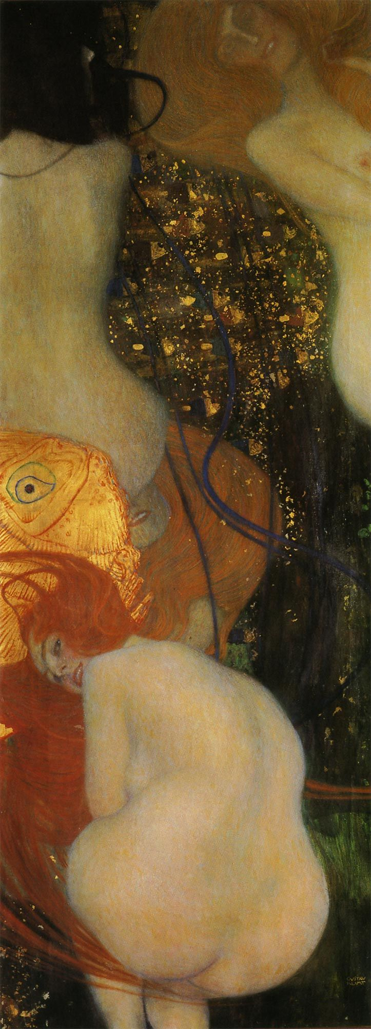 『金魚』(1901-1902) Gstav Klimt - Goldfische