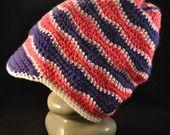 berretto ONDA bicolore viola e fucsia : Moda bambina di love-affairs